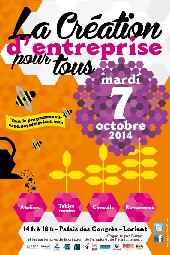 Populaire La création d'entreprise pour tous le 7 octobre à Lorient - CCRE56 ZX92
